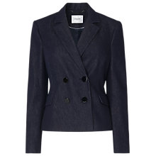 Buy L.K.Bennett Reene Denim Jacket, Blue Online at johnlewis.com