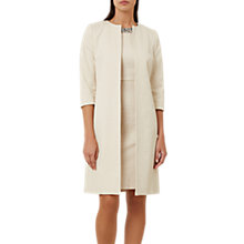 Buy Hobbs Sophie Coat, Oyster Online at johnlewis.com