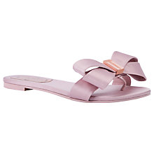 Buy Ted Baker Beauita Bow Toe Post Sandals Online at johnlewis.com