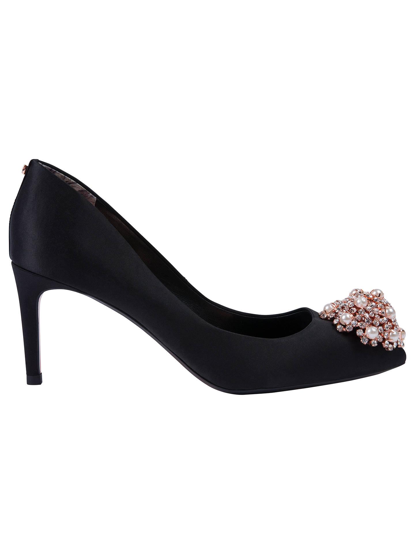 95545fb71952b8 Buy Ted Baker Dahrlin Embellished Court Shoes, Black, 7 Online at  johnlewis.com ...