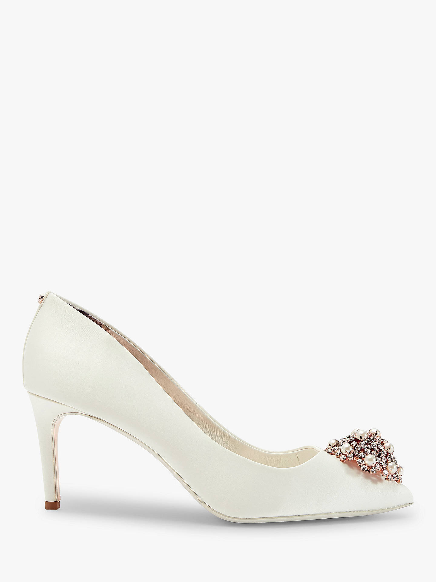 74ee7a8041c3 Ted Baker Dahrlin Embellished Court Shoes at John Lewis   Partners