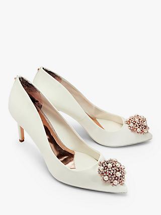 561a517ee Ted Baker Dahrlin Embellished Court Shoes