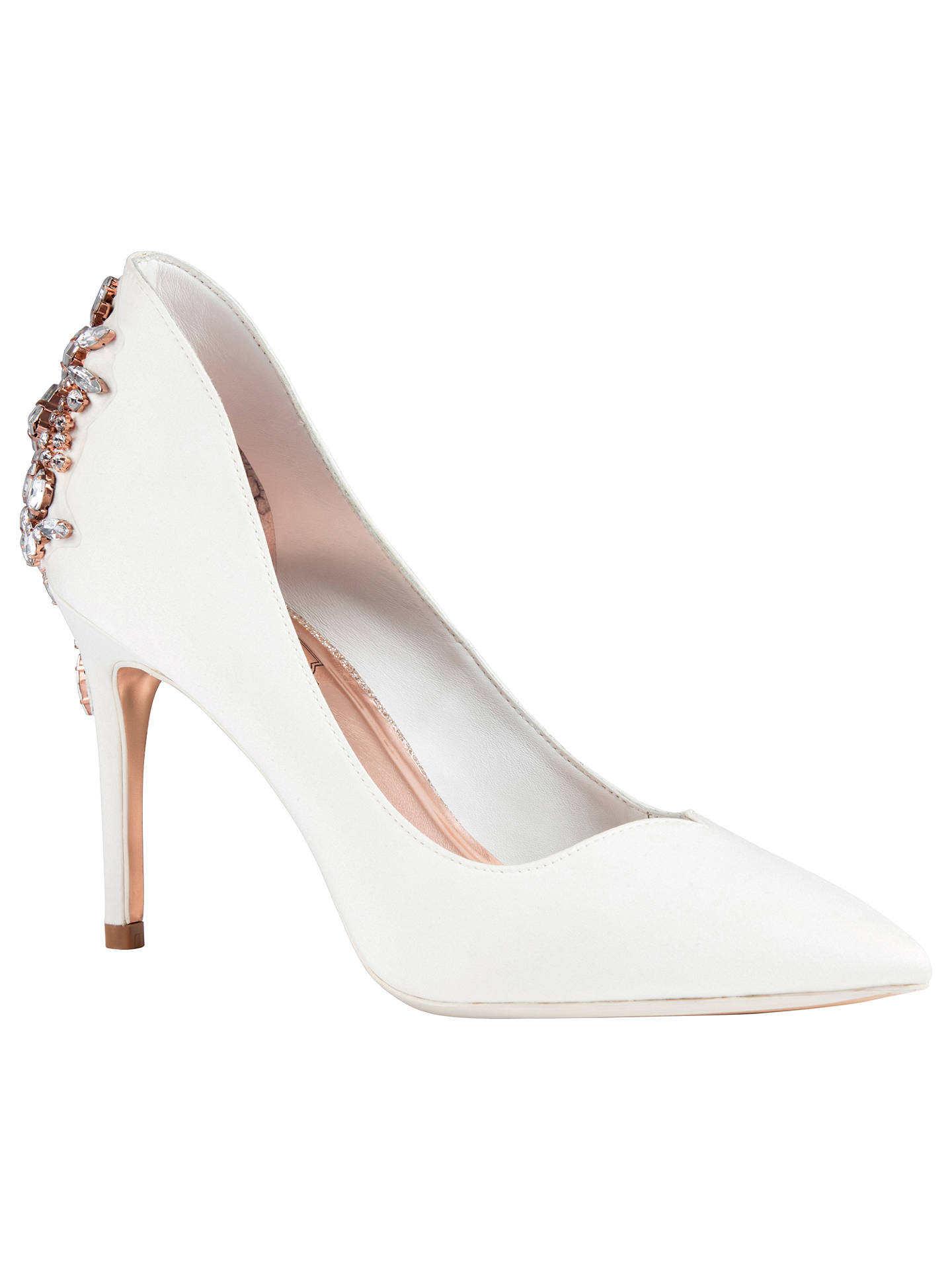 2faf0d560899 Buy Ted Baker Finoula Embellished Court Shoes