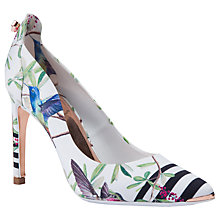 Buy Ted Baker Hallden Stiletto Heel Court Shoes, Multi Online at johnlewis.com