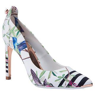 Ted Baker Hallden Stiletto Heel Court Shoes, Multi