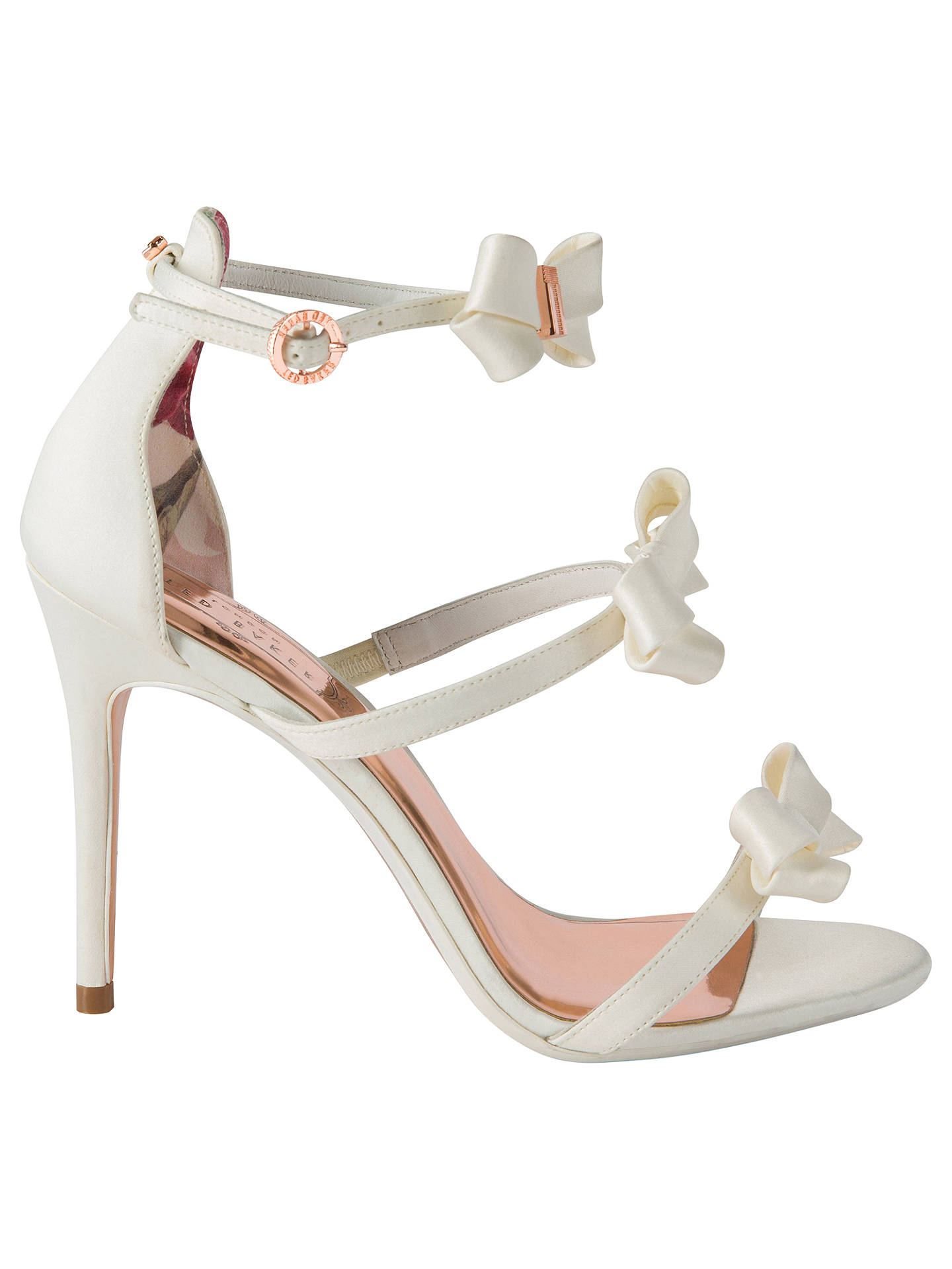 7bab37784e52e Buy Ted Baker Nuscala Bow Stiletto Heel Sandals