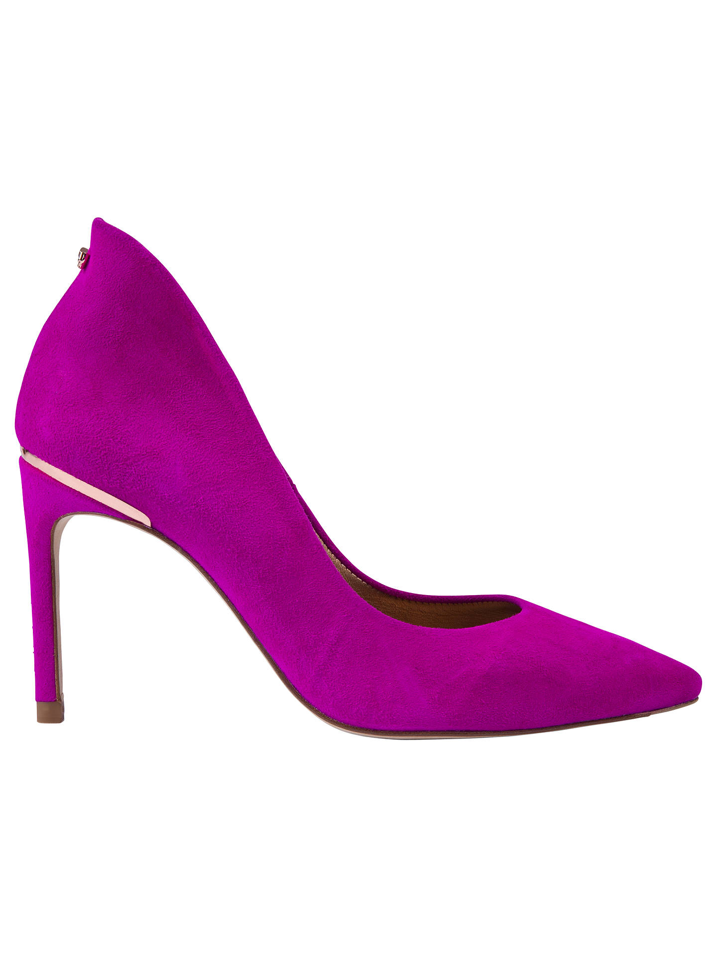 1136e8e176dfc4 Ted Baker Savio 2 Stiletto Heeled Court Shoes at John Lewis   Partners