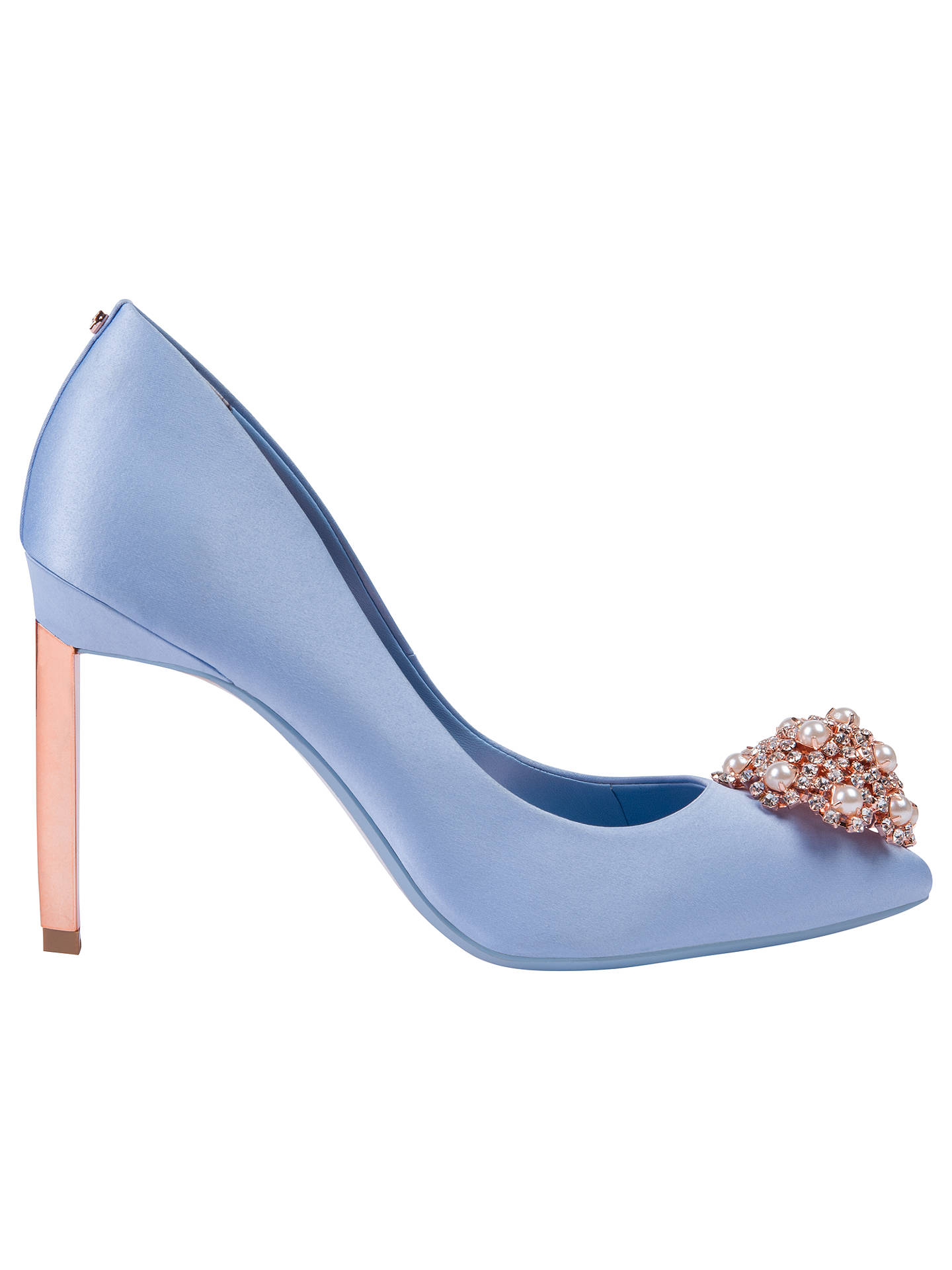 616a4471a8e2 Ted Baker Peetch 2 Embellished Stiletto Heel Court Shoes at John ...