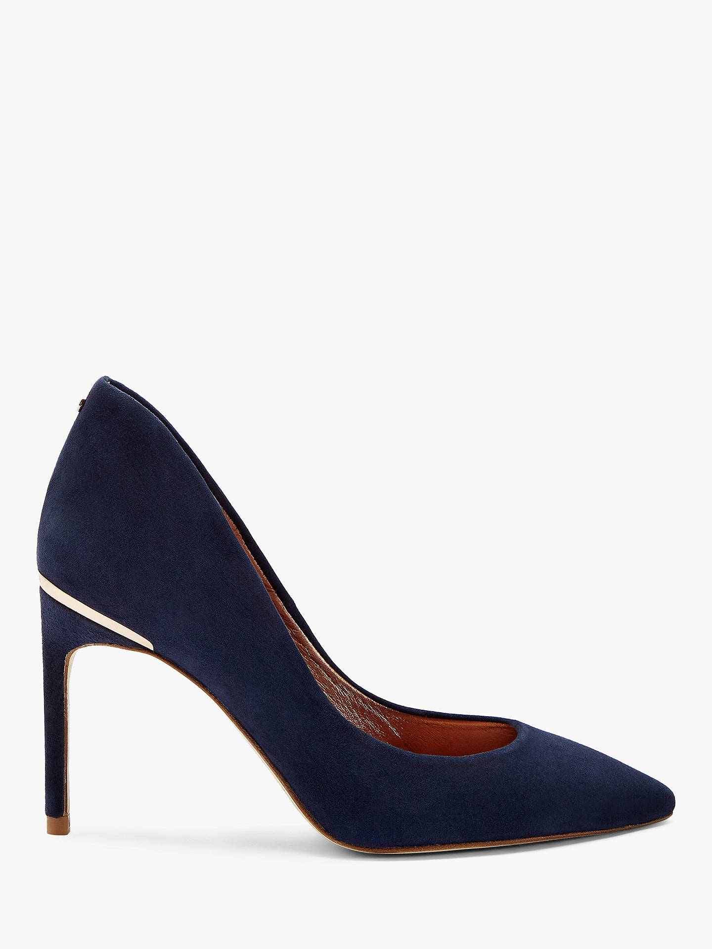 4feb96bce5a Ted Baker Savio 2 Stiletto Heeled Court Shoes at John Lewis   Partners