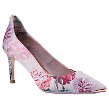 Buy Ted Baker Vyixyn Palace Garden Court Shoes, Multi Online at johnlewis.com