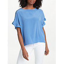 Buy TOUPY Fire Ruffle Silk Blouse Online at johnlewis.com