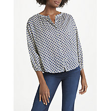 Buy Velvet by Graham & Spencer Catalina Blouse, White Online at johnlewis.com