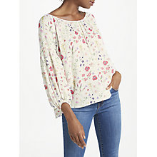 Buy Velvet by Graham & Spencer Molina Blouse, Somerset Online at johnlewis.com