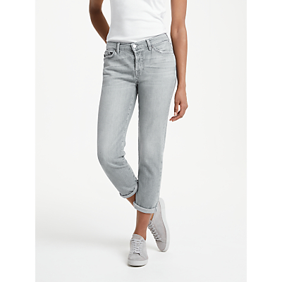7 For All Mankind Josefina Boyfriend Jeans, Soul Grey