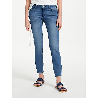 DL1961 Margaux Mid Rise Skinny Ankle Jeans, Fresno