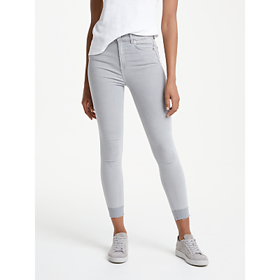 7 For All Mankind Aubrey Unrolled Slim Illusion Jeans, Luxe Uplift