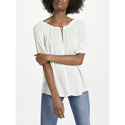 Velvet by Graham & Spencer Yaritza Blouse, Coconut