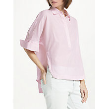 Buy Marc Cain Oversized Shirt, Pink Online at johnlewis.com