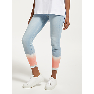 7 For All Mankind The Skinny Crop Unrolled Jeans