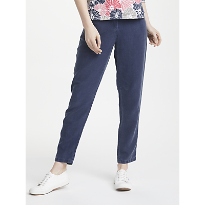 Gerry Weber Valerie Cropped Trousers, Indigo Blue