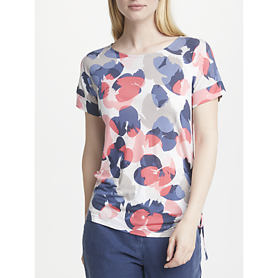 Gerry Weber Ruched Short Sleeve T-Shirt, Multi