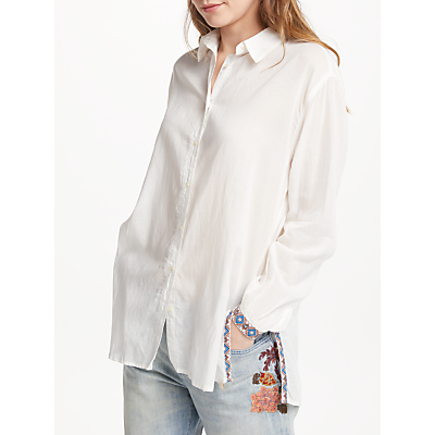 Maison Scotch Long Sleeve Shirt, Off White