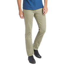 Buy BOSS Orange63 Slim Jeans, Light Green Online at johnlewis.com