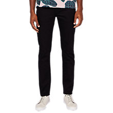 Buy Ted Baker Senoire Straight Fit Jeans, Dark Wash Online at johnlewis.com