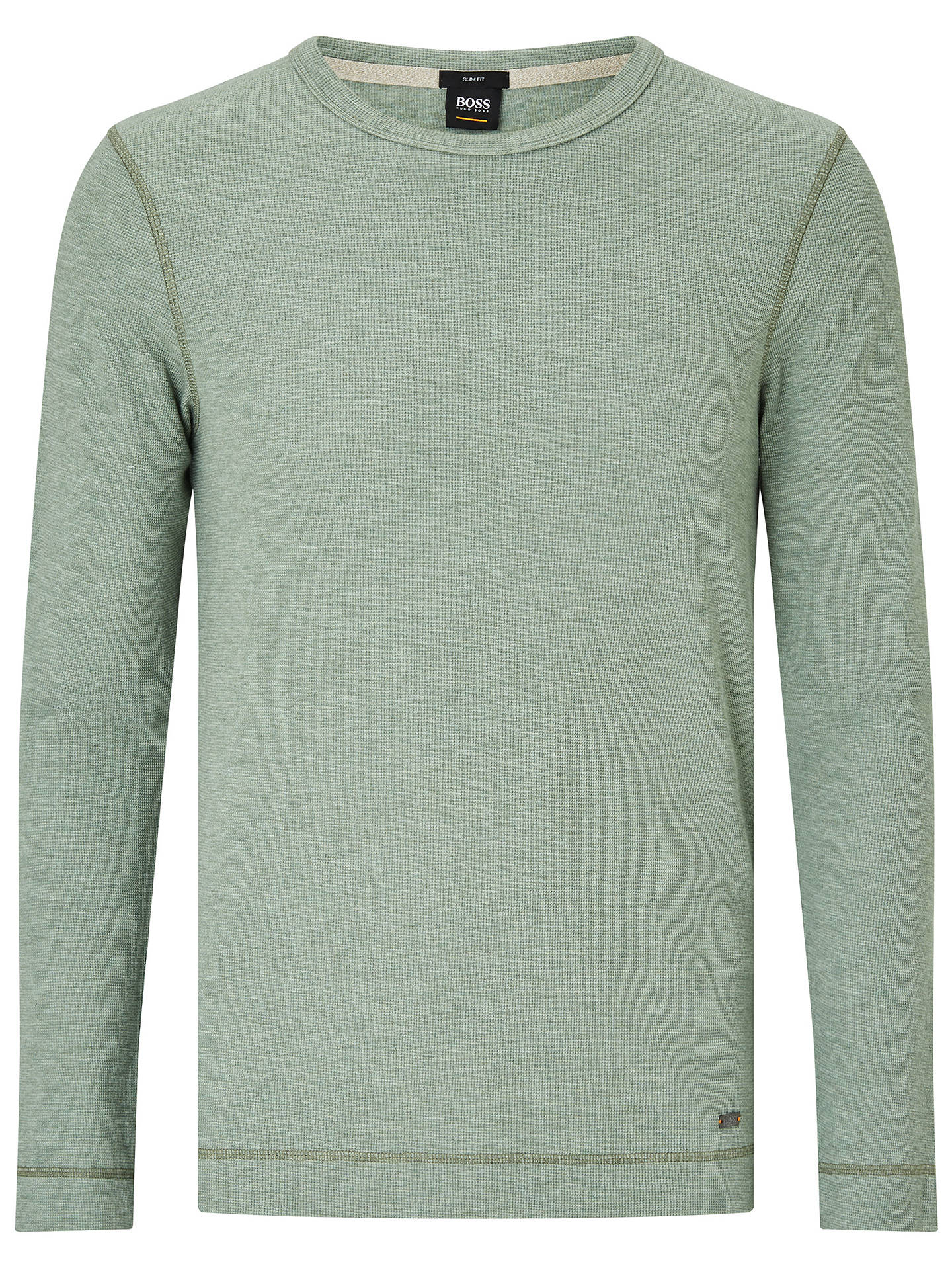 Boss Tempest Long Sleeve Slim Fit T Shirt At John Lewis Partners Tendencies Tshirt Monday To Navy Xxl Buyboss Light Green S Online