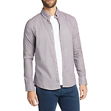 Buy BOSS Epreppy Printed Long Sleeve Slim Fit Shirt, Dark Blue Online at johnlewis.com