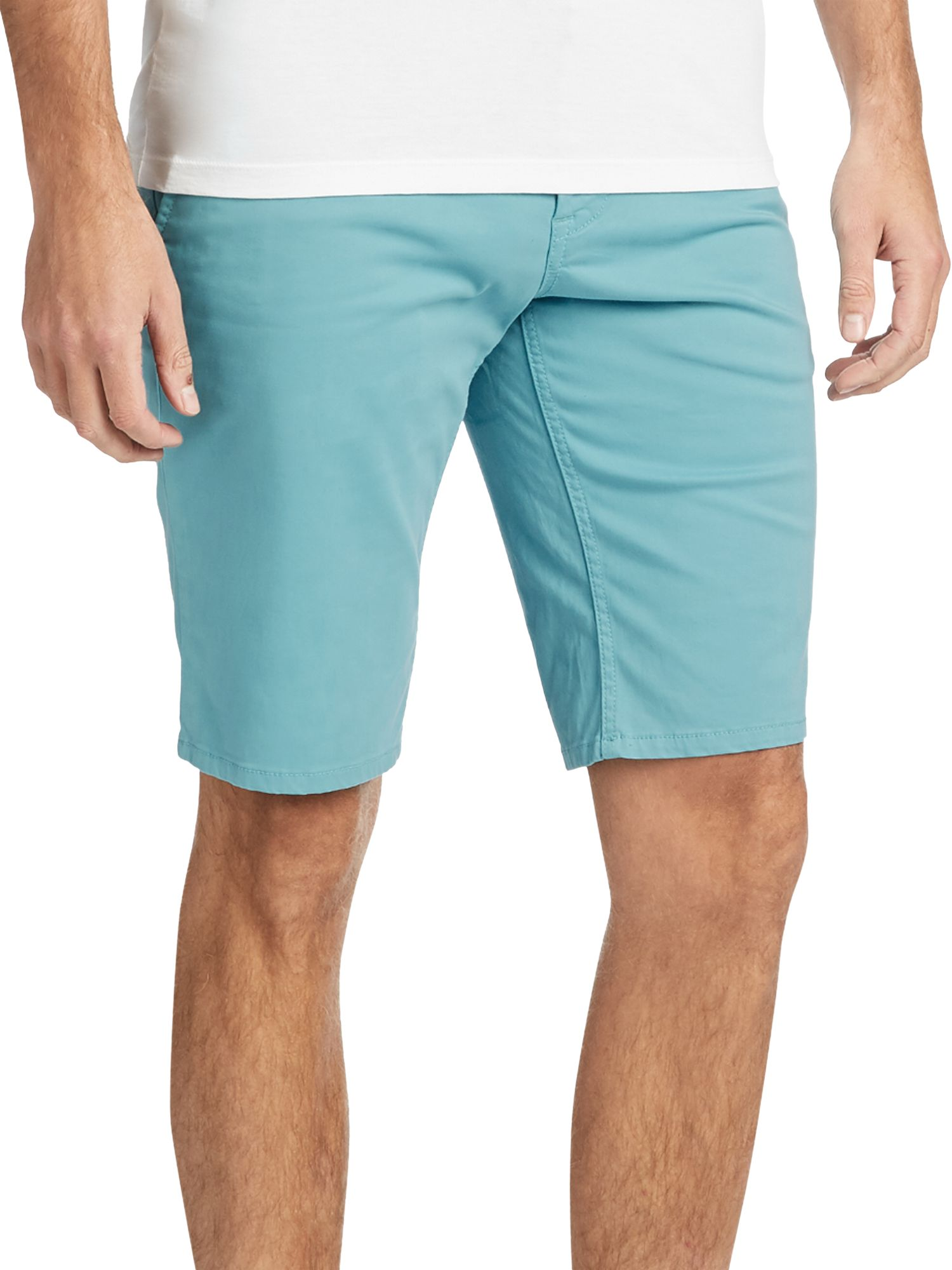 1029470c BOSS Schino Slim Fit Chino Shorts at John Lewis & Partners