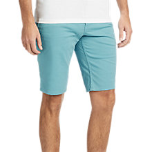 Buy BOSS Schino Slim Fit Chino Shorts, Aqua Online at johnlewis.com
