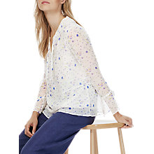 Buy Brora Liberty Print Chiffon Blouse, Midsummer Floral Online at johnlewis.com