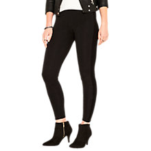 Buy Oasis Side Panel Leggings, Black Online at johnlewis.com