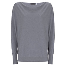 Buy Mint Velvet Metallic Batwing Jumper, Grey Online at johnlewis.com