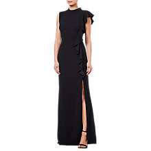 Buy Adrianna Papell Knit Crepe Dress, Black Online at johnlewis.com