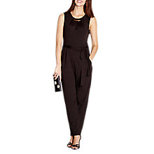 Buy Yumi Jersey Jumpsuit, Black Online at johnlewis.com
