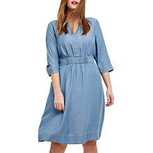 Buy Studio 8 Mildred Chambray Dress, Blue Online at johnlewis.com