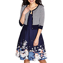 Buy Yumi Stitch Cardigan, Navy Online at johnlewis.com