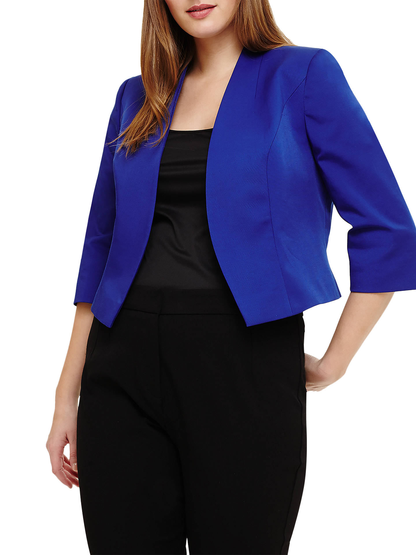 BuyStudio 8 Dani Jacket, Cobalt, 14 Online at johnlewis.com