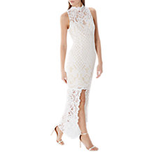 Buy Coast Izzy Lace Maxi Dress, Ivory Online at johnlewis.com