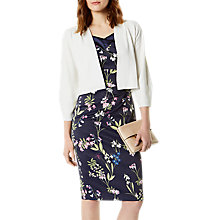 Buy Karen Millen Open Front Cardigan, Ivory Online at johnlewis.com
