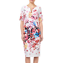 Buy Adrianna Papell Spring in Bloom Dress, Multi Online at johnlewis.com