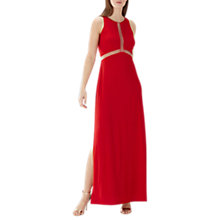 Buy Coast Stara Maxi Dress, Red Online at johnlewis.com