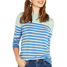 Buy Oasis Stripe Sweatshirt, Multi Online at johnlewis.com