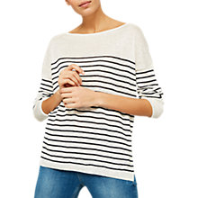 Buy Mint Velvet Boxy Stripe Jumper, Multi Online at johnlewis.com