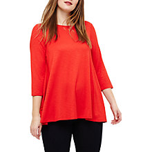 Buy Studio 8 Molly Slub Top, Poppy Online at johnlewis.com