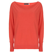 Buy Mint Velvet Batwing Jumper, Watermelon Online at johnlewis.com
