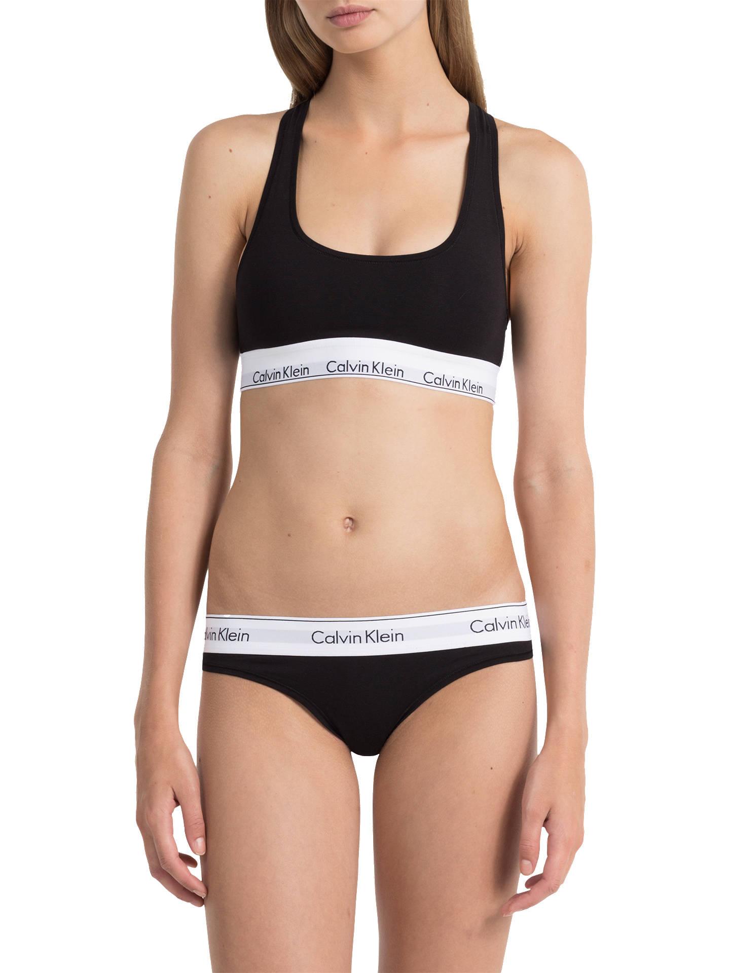9b65e6aa81 Calvin Klein Underwear Modern Cotton Thong at John Lewis   Partners