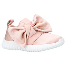 Buy Mini Miss KG Children's Lyla Trainers, Pale Pink Online at johnlewis.com